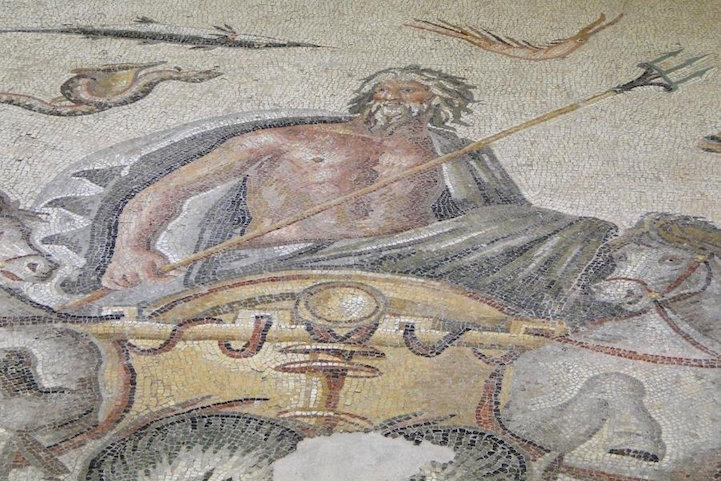 God of the Sea - holding his siganture trident
